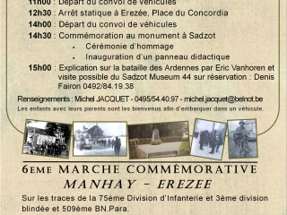 Evenement commémoratif